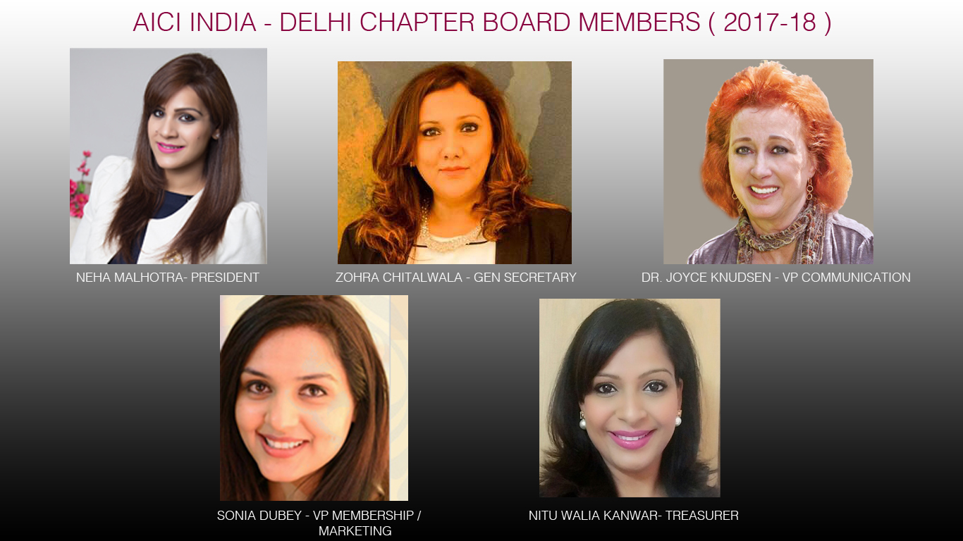 CHAPTER BOARD 2017 -18